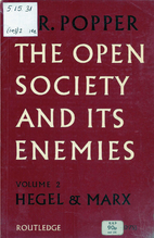 The Open Society and Its Enemies by Karl…
