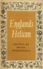 England's Helicon by Hugh MacDonald