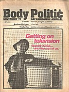 Body Politic (Issue #38) Getting on…