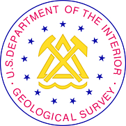 Author photo. Seal of the U.S. Geological Survey