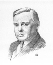 Author photo. drawing by Frances Carle at <a href=&quot;http://www.herbertasbury.com/HerbertAsburyFamily/HerbertAsbury/tabid/182/Default.aspx&quot; rel=&quot;nofollow&quot; target=&quot;_top&quot;>Herbert Asbury.com</a>