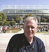 Author photo. Malcolm Folley / Sports Journalists' Association UK