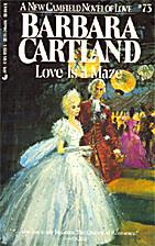 Love is a Maze by Barbara Cartland