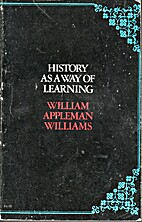 History As a Way of Learning: Articles,…