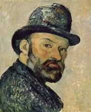 Author photo. Self-portrait, circa 1883-1887 <br>(Yorck Project)