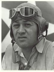 "Author photo. ""Pappy"" Boyington ~ U.S. Marine Corps Photo"