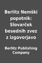 Berlitz Nemški popotnik: Slovarček…
