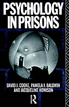 Psychology in Prisons New edition by…