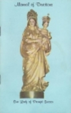Manual of Devotions Our Lady of Prompt…