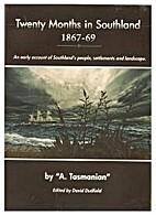 Twenty months in Southland 1867-69 : an…