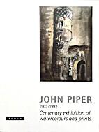 John Piper 1903-1992 Centenary exhibition of…