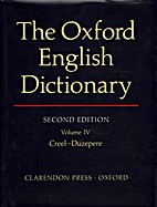 The Oxford English Dictionary, Second…