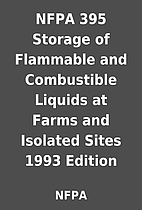 NFPA 395 Storage of Flammable and…