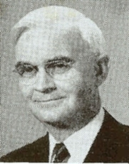 Author photo. Aaron Wesley Dicus / Credit of photo Preachers of Today, Vol. 1, 1952