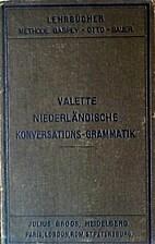 Niederländische Konversations-Grammatik -…