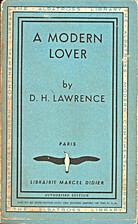 A modern lover by D.H. Lawrence