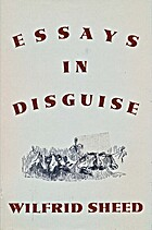Essays In Disguise by Wilfrid Sheed