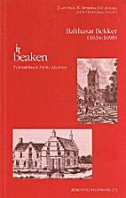 Balthasar Bekker (1634-1698) by J. van Sluis