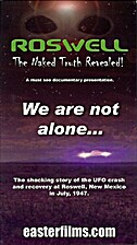 Roswell: The Naked Truth Revealed - VHS…