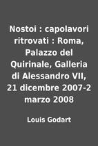 Nostoi : capolavori ritrovati : Roma,…