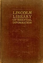 The Lincoln Library of Essential Information…