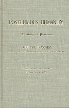 Posthumous Humanity: A Study of Phantoms…