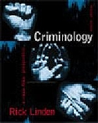 Criminology: a Canadian Perspective, Fourth…