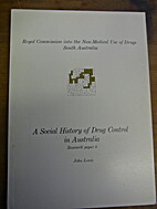 A Social History of Drug Control in…