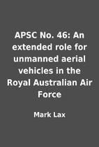APSC No. 46: An extended role for unmanned…