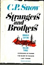 Strangers and Brothers by C.P. Snow