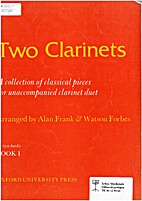 Two clarinets by Alan Frank & Watson Forbes…