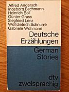 German Stories 1 (Deutsche Erzahlungen 1) by…