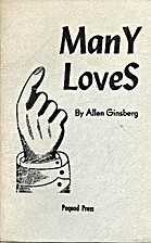 Many Loves (SC) by Allen Ginsberg