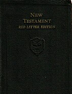 The New Testament; Red Letter Edition;…