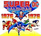 Super DC Calendar 1976