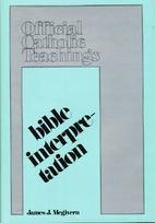 Bible interpretation (Official Catholic…