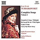 Complete Songs Volume 1 by Tchaikovsky