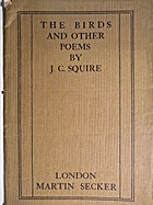 Birds and Other Poems, The by J. C. Squire