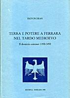 Terra e potere a Ferrara nel tardo medioevo…