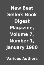 New Best Sellers Book Digest Magazine,…