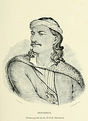 Author photo. Image from <i><a href=&quot;http://www.archive.org/details/adventuresofyoun00trel&quot;>Adventures of a Younger Son</a></i> (1890) at the <a href=&quot;http://www.archive.org&quot;>Internet Archive</a>