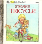 Stevie's Tricycle (First Little Golden…