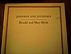 Johnson And Journals by Donald Frizell Hyde
