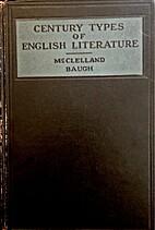 Century types of English literature:…