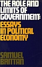Role and Limits of Government by Samuel…