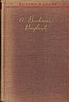 A Bookman's Daybook by Burton Rascoe