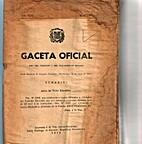 Gaceta Oficial: Santo Domingo de Guzmán, 14…