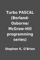 Turbo PASCAL (Borland-Osborne/McGraw-Hill…