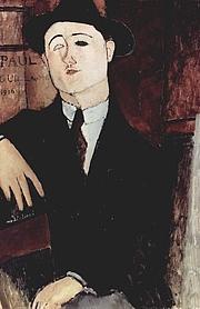 Author photo. Amadeo Modigliani.  1916