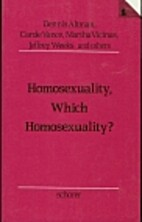 Which Homosexuality? by Dennis Altman